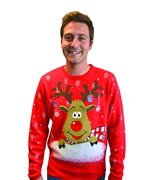 191c210a49b Amazon.com: Morphsuits Digital Dudz Amazing Ugly Xmas Jumper Sweater ...