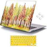 iCasso MacBook 12 Inch Case 2017 2016 2015 Release, Plastic Pattern Hard Shell with Keyboard Cover Compatible MacBook 12…