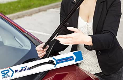 Amazon.com: Soft Flat Wiper Blade-Quick fit Multifunction type Easy to install (16