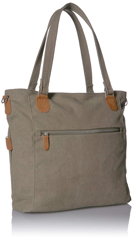 Pewter Travelon Anti-Theft Heritage Tote Bag