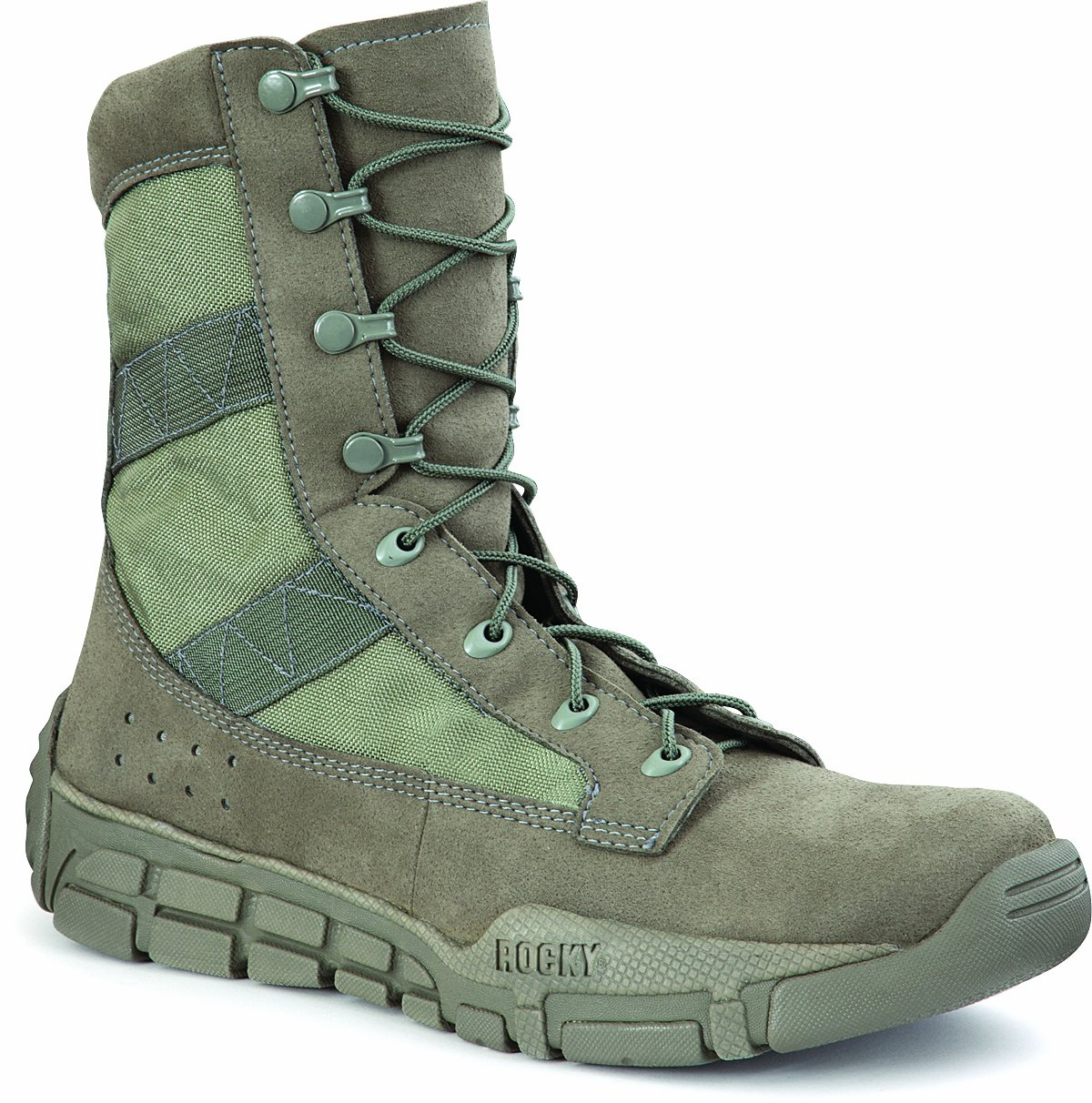 Rocky Men's FQ0001073 Boot, sage green, 11.5 M US by Rocky