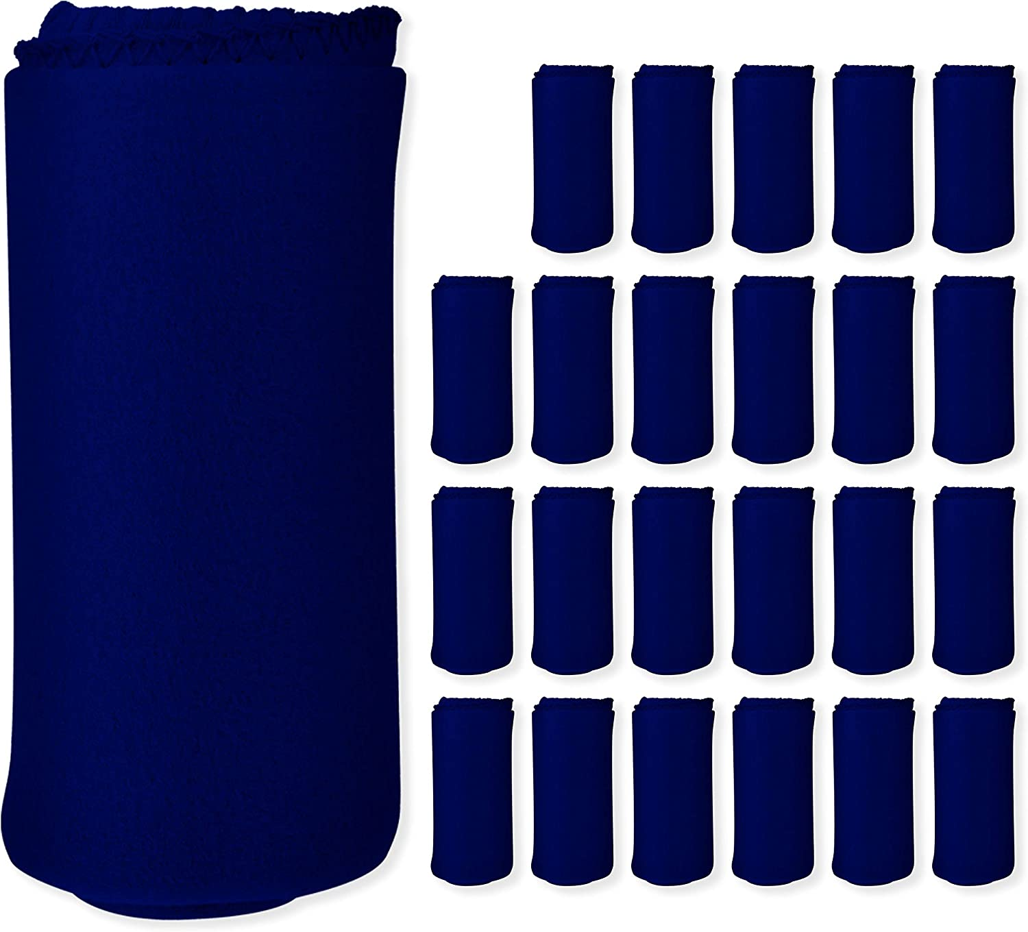 Imperial Home 24 Pack Wholesale Soft Fleece Brand Cheap Sale Venue Ranking TOP10 Blankets - 50