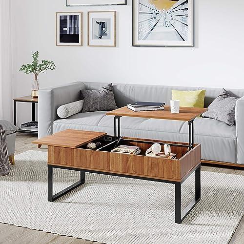 SEI Furniture Pyramid Storage Trunk, Coffee Table, Mission Oak