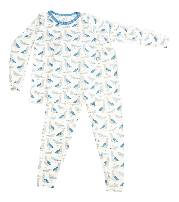 BESTAROO Toddler Pajama in Seagull Print 3T