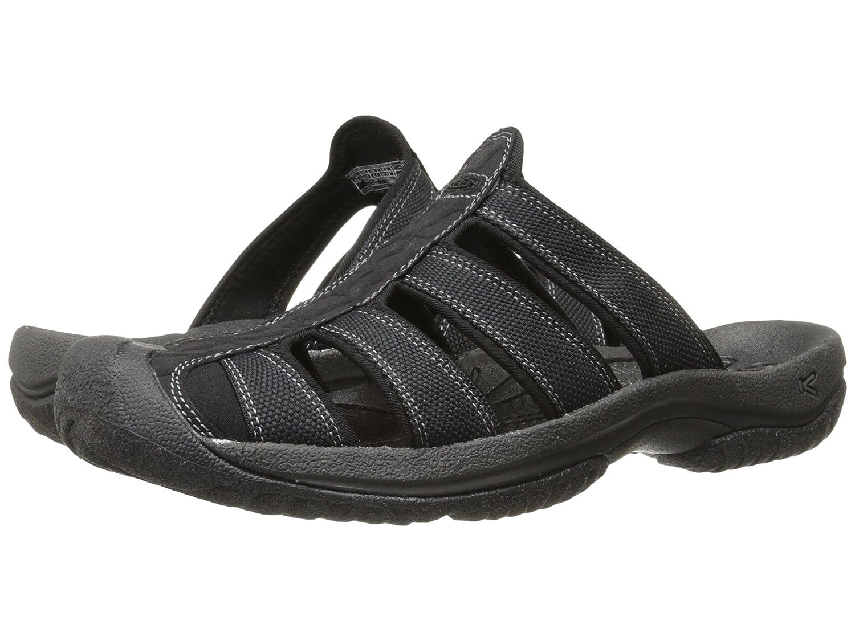 [キーン] Keen メンズ Aruba II サンダル [並行輸入品] B01N169EKZ US8.5(26.5cm) - D - Medium Black/Gargoyle