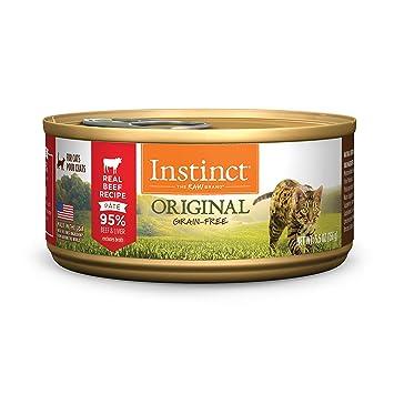 Amazon.com: Instinct Receta sin granos,comida para gatos ...
