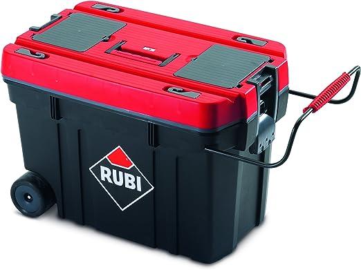 Rubi 71954 Caja herramientas de plástico, Rojo: Amazon.es ...