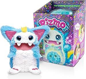 Rizmo Aqua (Blue) Interactive Plush, Blue