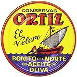 Ortiz El Velero - Bonito del Norte en Aceite de Oliva - Atún blanco - 63 g - [Pack de 5]