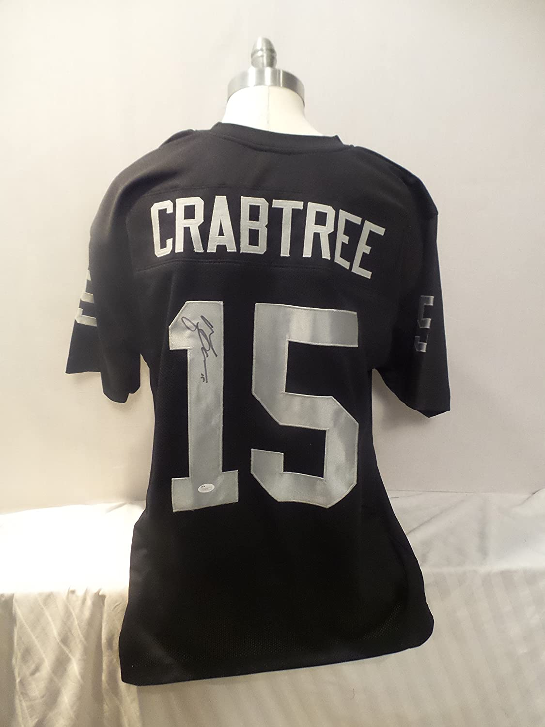 pretty nice 1beca cc683 Michael Crabtree Signed Oakland Raiders Black Autographed ...