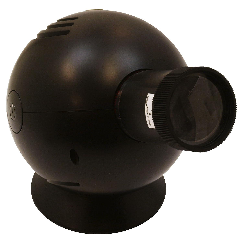 DETAIL Projection clock Arabic black プロジェクションクロック アラビックブラック 1598BK B00377M8HG ブラック ブラック