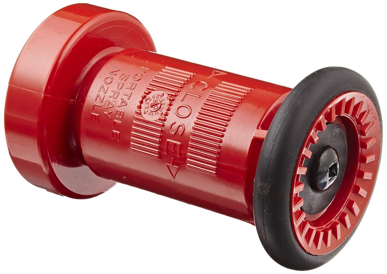 Dixon Valve CFB2015S Thermoplastic Fire Equipment, Constant Flow Fog Nozzle, 2' SIPT (NPSH) 2 SIPT (NPSH) Dixon Valve & Coupling