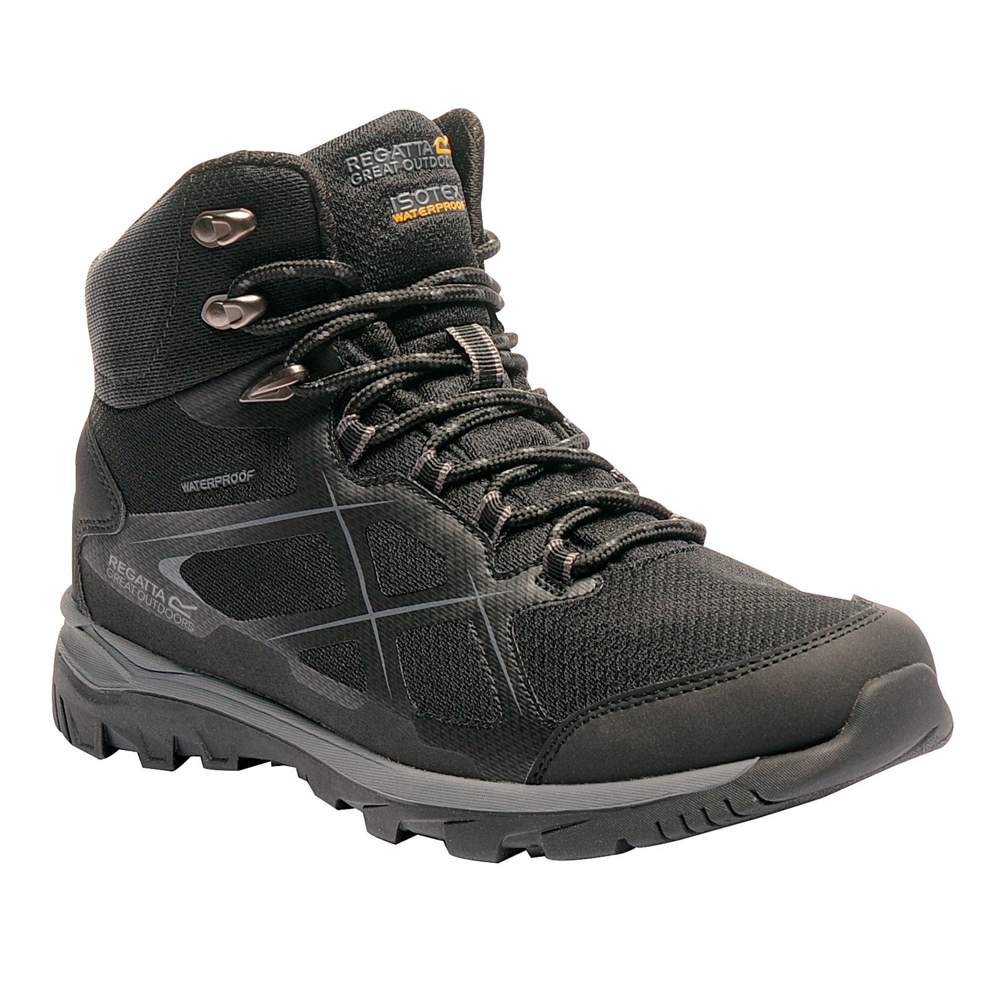 Regatta Great Outdoors Mens Kota Mid Walking Boot (10 US) (Navy Blazer/Lime Green) by Regatta (Image #3)