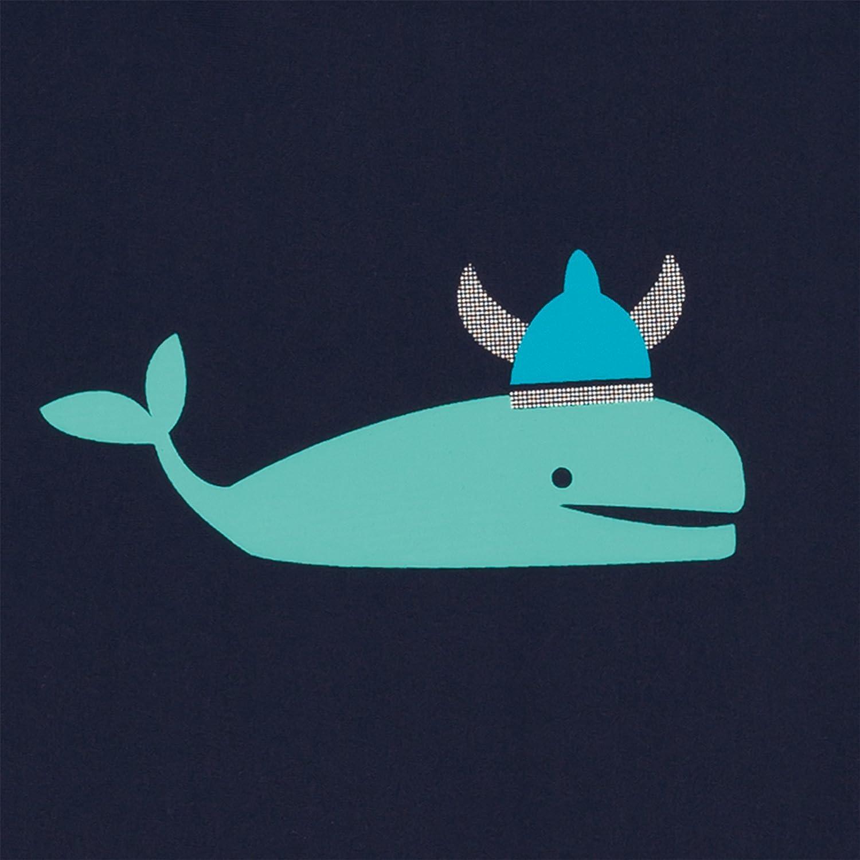 Lassig Splash and Fun Baby Long Sleeve Rashguard Swim Shirt boys UV-protection 50+ S//6 Months striped aqua