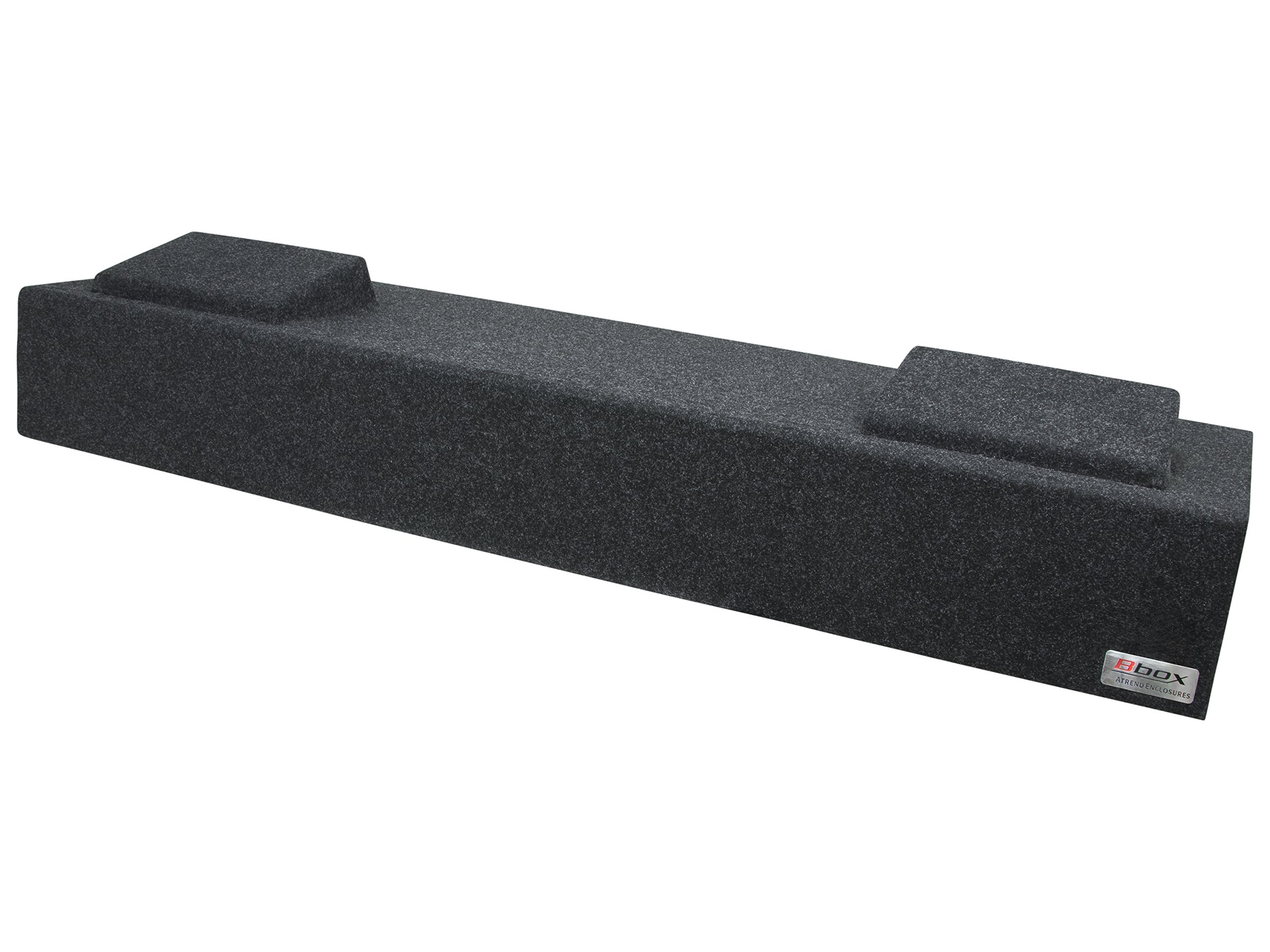 Bbox A182-12Cp Dual 12'' Sealed Carpeted Subwoofer Enclosure - Fits 2007 - 2013 Chevrolet / GMC Silverado / Sierra Crew Cab