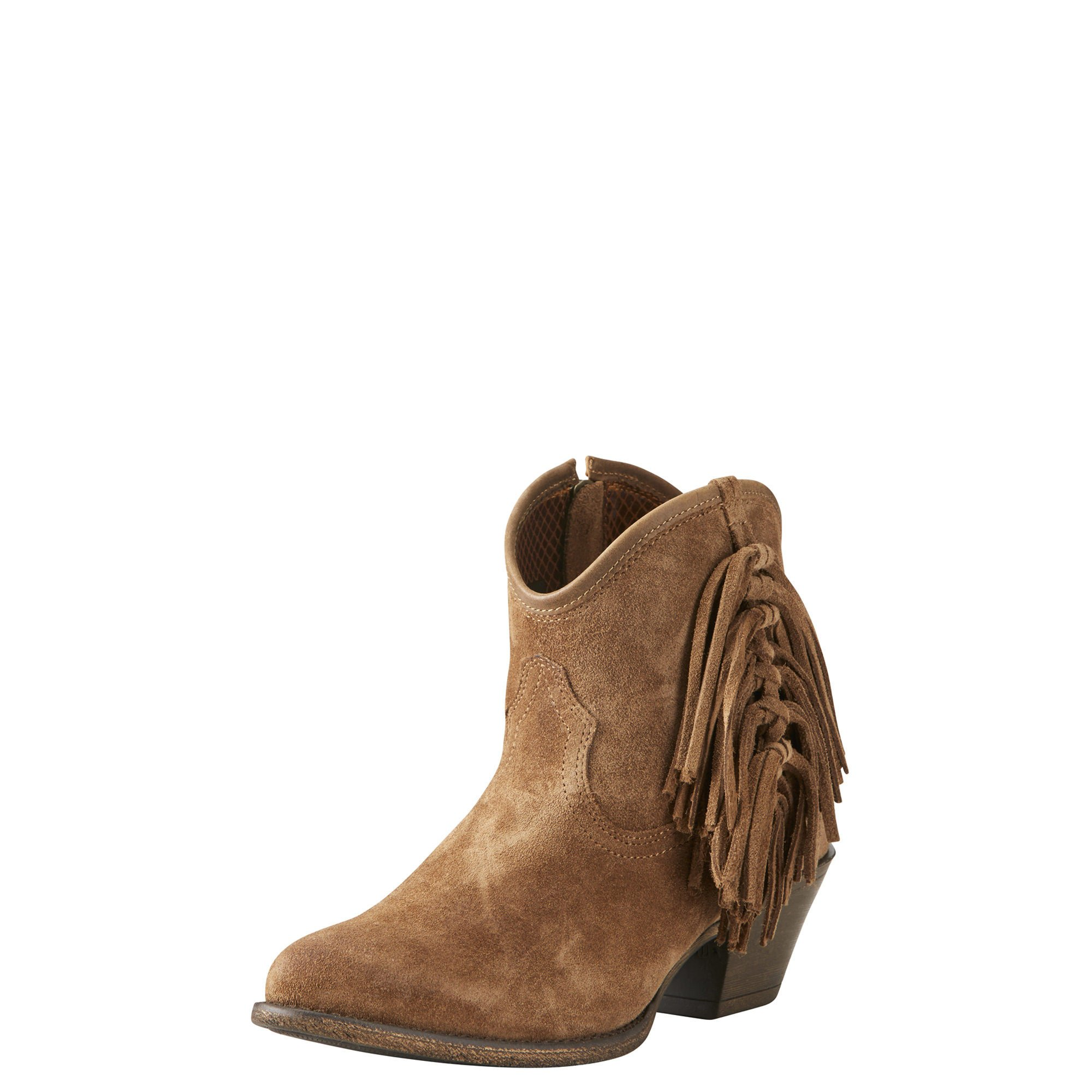 Ariat Women's Duchess Work Boot, Dirty Tan Suede, 9.5 B US by Ariat