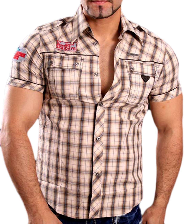 Baxboy Gov Denim 8305 - Camisa de manga corta para hombre ...