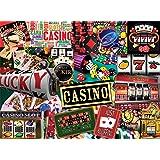 White Mountain Puzzles Casino - 550 Piece Jigsaw Puzzle