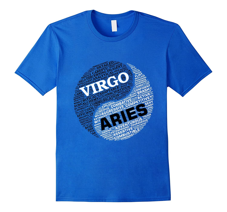 Zodiac Facts: Men & Women Virgo and Aries T-shirt-TH