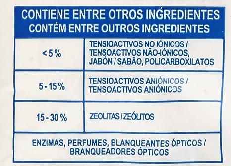 Rube - Detergente en polvo automáticas - Potencia limpiadora ...