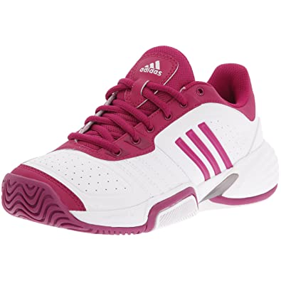 new product e0cdd 09059 adidas Barricade Team W - Chaussures Tennis intensif Femme - Blancviolet Argent -