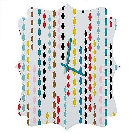 Deny Designs Khristian a Howell, Nolita Drops, Quatrefoil Clock, Medium