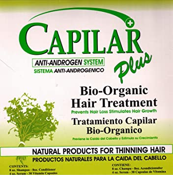Capilar Plus, Bio-organic Hair Threatment, Capilar +, Capilar Plus Kit