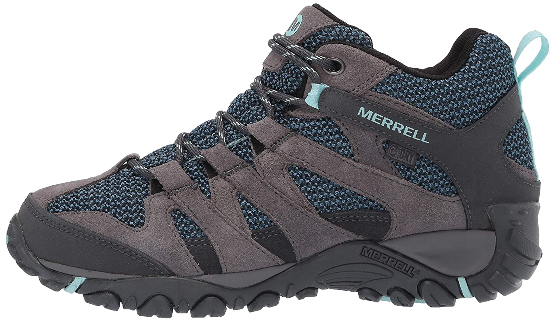 Merrell Womens Alverstone Mid Waterproof Hiking Shoe