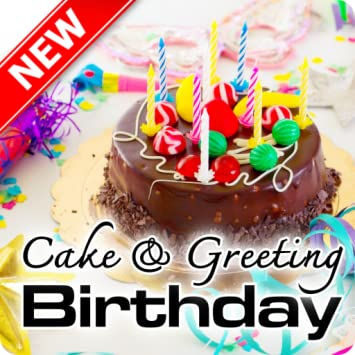 Enjoyable Amazon Com Happy Birthday Cake Greeting Message Appstore For Android Personalised Birthday Cards Arneslily Jamesorg