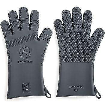 Love This Kitchen Silicone BBQ Gloves