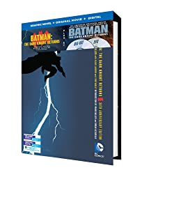 Batman: The Dark Knight Returns w/ Batman: The Dark Knight Returns Graphic Novel (UV/Bilingual/BD) [Blu-ray]