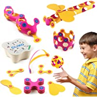 Clixo Itsy Magnetic Toy for Kids - Flexible, Durable, Imagination-Boosting Magnet Building Toy. An Educational Multi…
