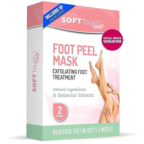 Foot Peel Mask – 2 Pack of Peeling Booties