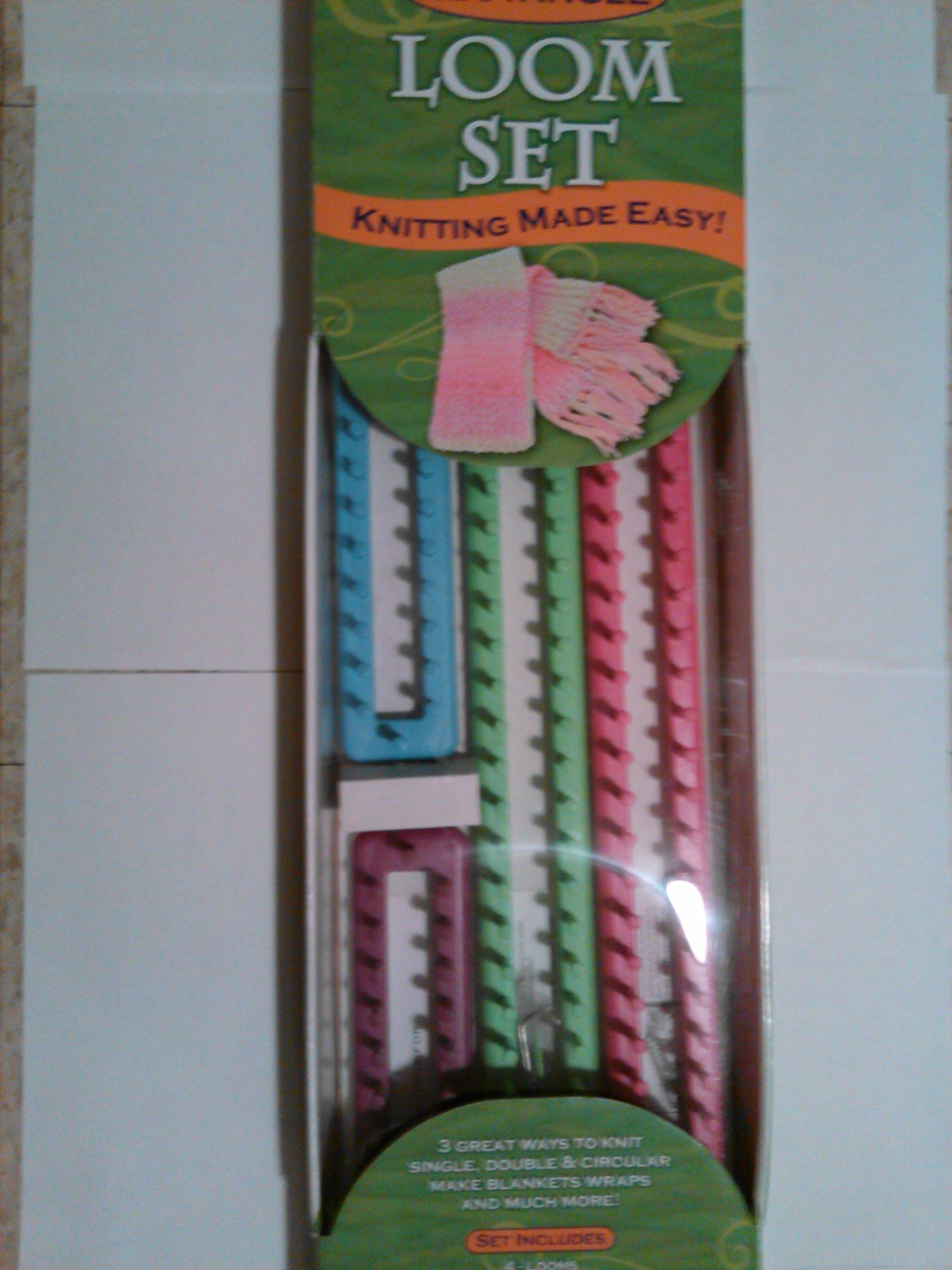 Rectangle Loom Set Knitting Made Easy!