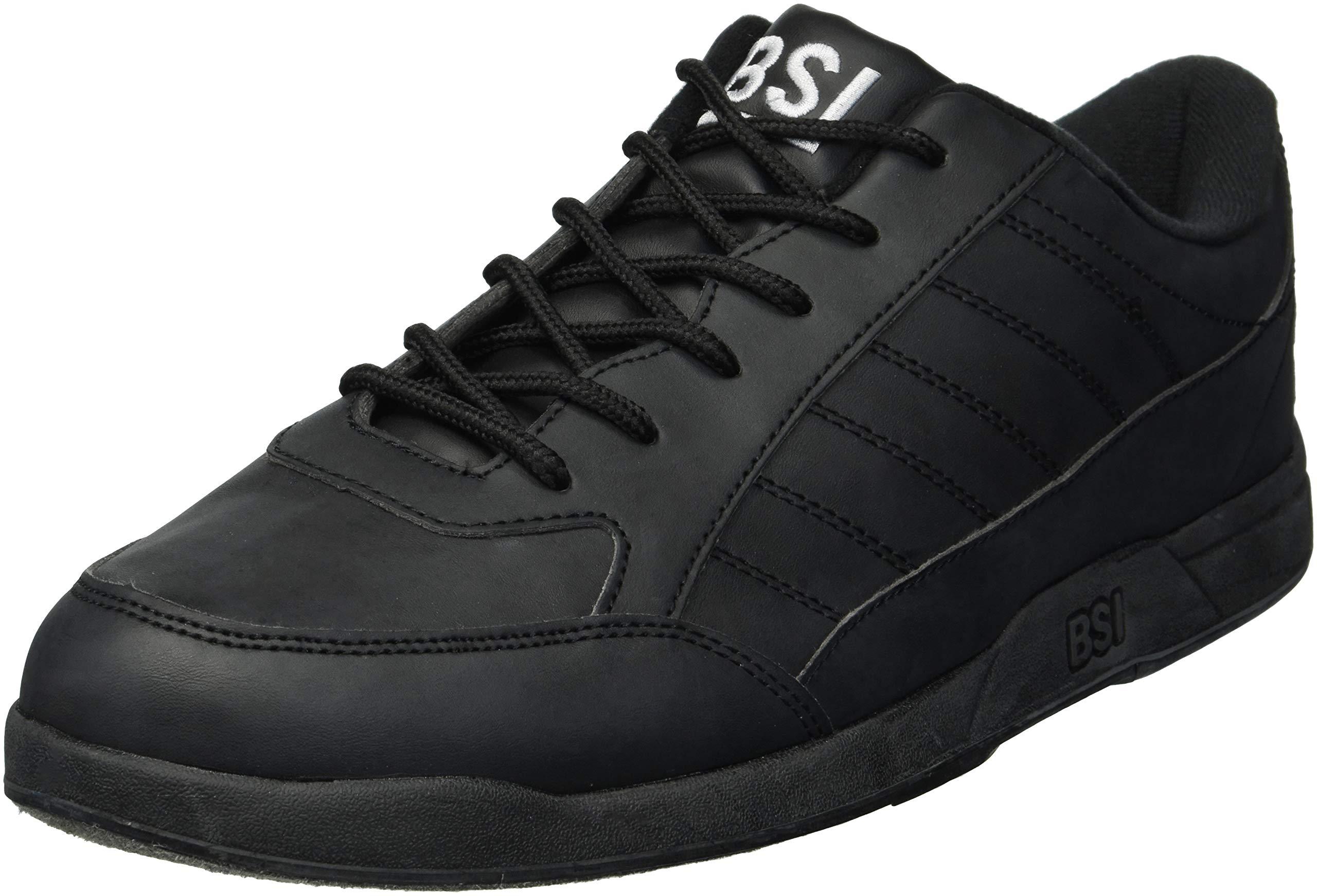 BSI Men's Basic #521 Bowling Shoes, Black, Size 6.5