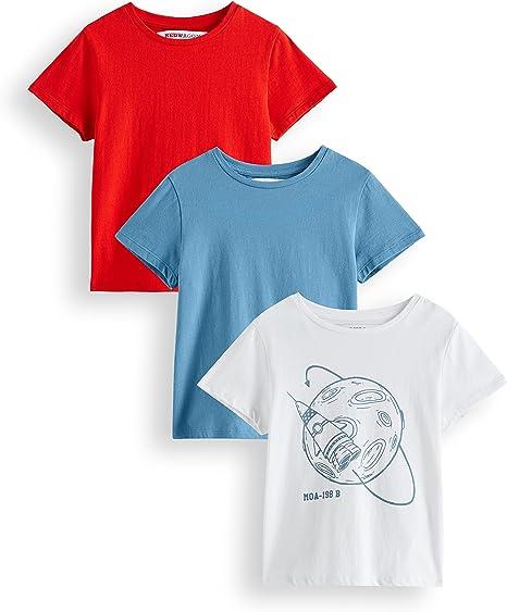 Marca RED WAGON Camiseta Ni/ñas Pack de 3