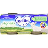 Mellin Omogeneizzato Agnello - 24 Vasetti da 80 gr