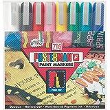 Zig Posterman Fine Tip Markers, Multicolor, 8-Pack