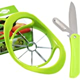 Apple Slicer and Corer,Ultra-Sharp Stainless Steel 8-Blades with Ergonomic Anti-Slip Handle for All-size Apples or Pears