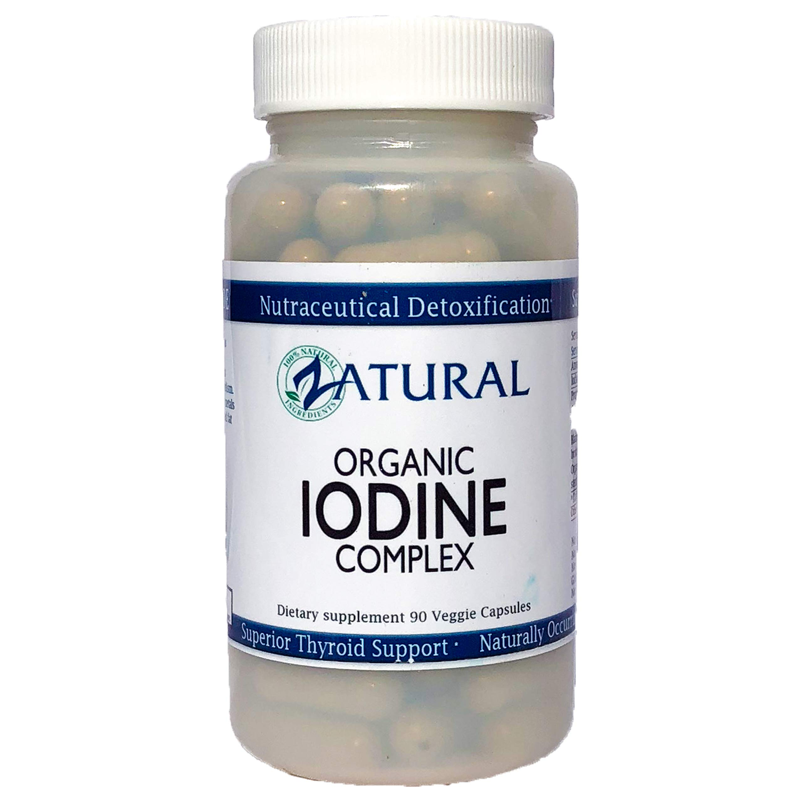 Organic Iodine Complex | Live-Source Iodine | Superior Thyroid Support | Nutraceutical Detoxification | Naturally Occurring Iodine (2)