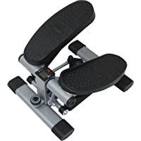 Sunny Health & Fitness Dual Action Swivel Stepper w/ LCD Monitor