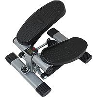 Sunny Health & Fitness Máquina de Pasos Escaladora Oscilante de Doble Acción con Pantalla LCD SF-S1402