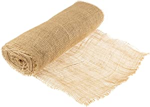 """Clever Creations Natural Rustic Burlap 