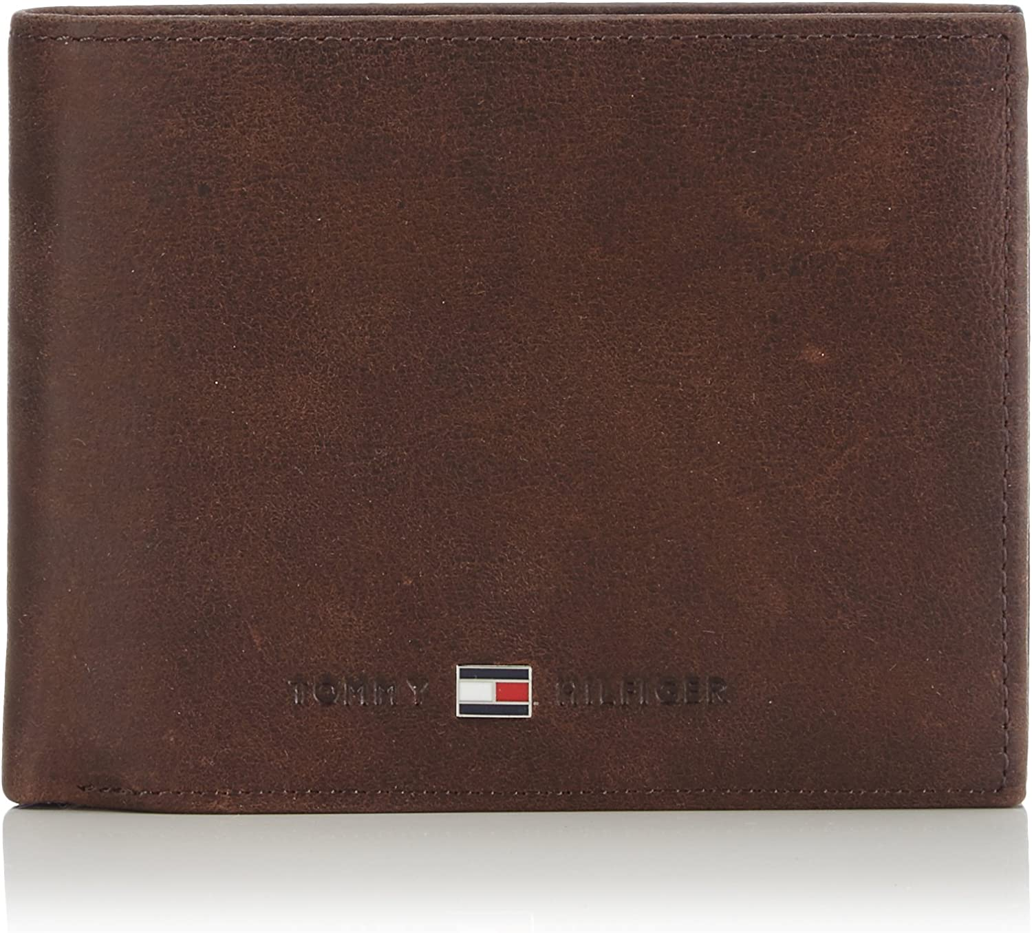 Tommy Hilfiger Johnson CC Flap and Coin Pocket, Cartera Hombre^Mujer, 13x10x2 cm (B x H x T)