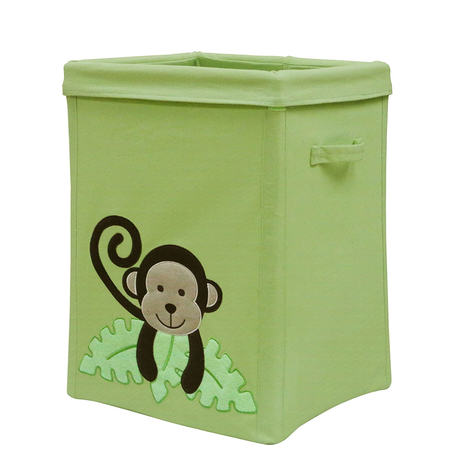 Belle Canvas Monkey Collapsible Storage Farallon Brands 140592