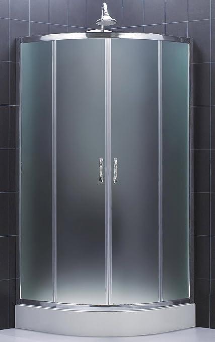 Dreamline Prime 36 38 By 36 38 Frameless Sliding Shower