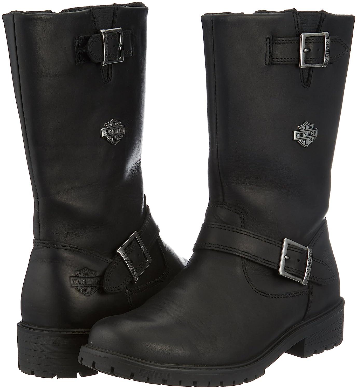 Harley-Davidson - Harley davidsonrandy - Botas Camperas - Black: Amazon.es: Zapatos y complementos