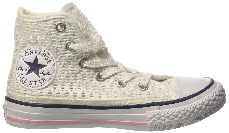 Converse All Star Tiny Hi Tiny All Crochet - Zapatillas/ Abotinadas ...