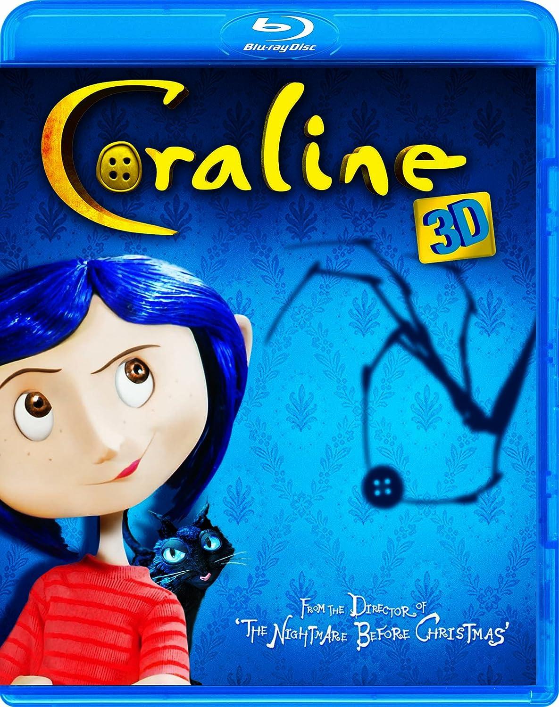 Amazon.com: Coraline (Blu-ray 3D / DVD Combo): Dakota Fanning, Teri ...