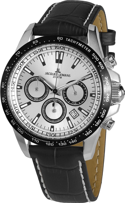 JACQUES LEMANS Reloj de Cuarzo Man Liverpool 1-1836 41 mm: Amazon.es: Relojes